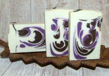 Levendula-fehércsokoládé szappan
