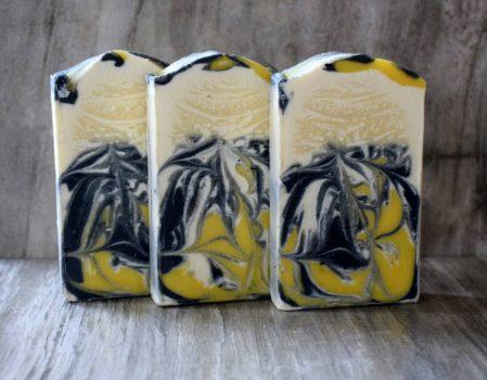 Fekete kamilla szappan