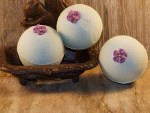 Pezsgő fürdőgolyó - Cucumber Violet - limitált széria