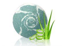 Pezsgő fürdőgolyó - Aloe Vera & Green Tea