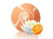 Pezsgő fürdőgolyó - Lotus Orange