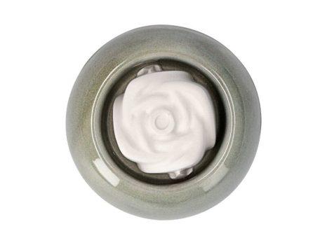 Aromakő kerámia alátéttel - rózsa 5 cm