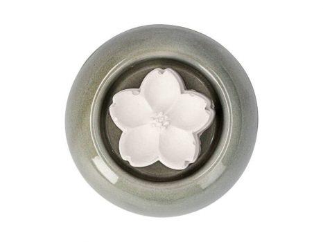 Aromakő kerámia alátéttel - geránium 5 cm