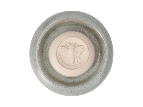 Aromakő kerámia alátéttel - méhecske 7 cm