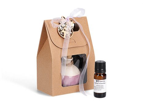 Kerámia hidegpárologtató gömb ajándékcsomag illatolajjal