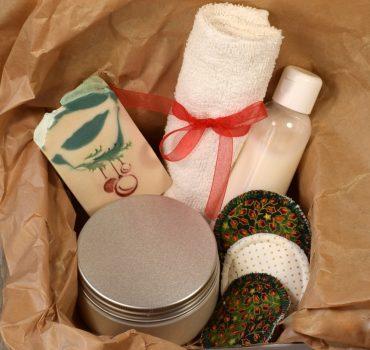 Antik Karácsony ajándékdoboz