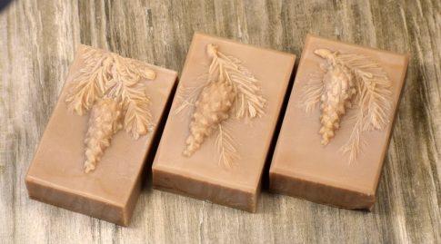 Dióolajos mézes karácsonyi szappan