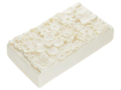 White bouquet sheavajas szappan