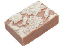 Mikulásvirág karácsonyi szappan