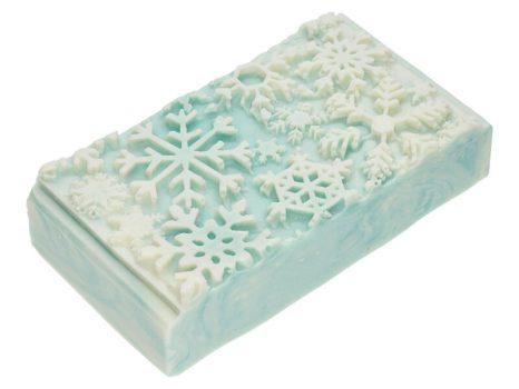 Frosted snowflakes karácsonyi szappan
