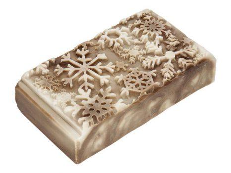 Caramel snowflakes karácsonyi szappan