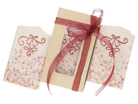 Csengettyű jojobaolajos karácsonyi szappan