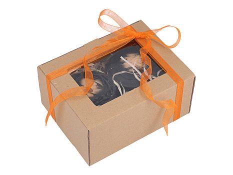 Pumpkin Spice Halloween sheavajas szappan ajándékdoboz