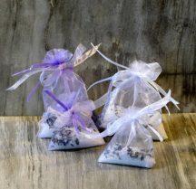 Esküvői köszönetajándék - aromazsákocska levendulával