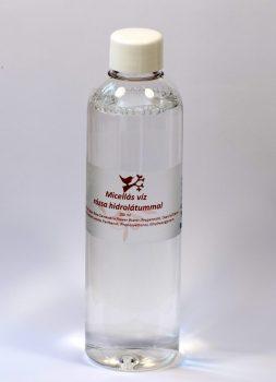 Micellás víz rózsa hidrolátummal
